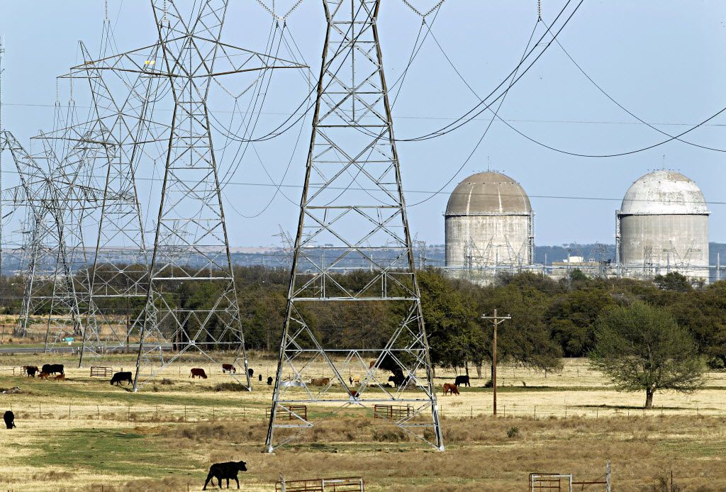 Waste Control Specialists wants to store nuclear fuel rods from power plants like the one at Comanche Peak in Glen Rose.