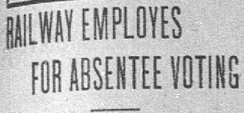 Headline from an article published July 22, 1915