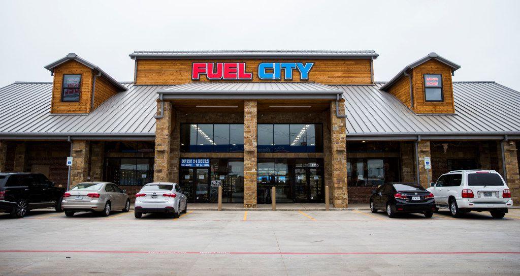 A new Fuel City location on Friday, December 16, 2016 on Haltom Road in Haltom City. (Ashley Landis/The Dallas Morning News)