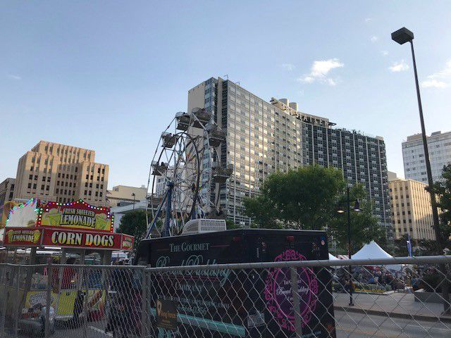 Parties have gone on inside and outside the Statler Hotel over the last three months while it's been under a city-ordered fire watch.