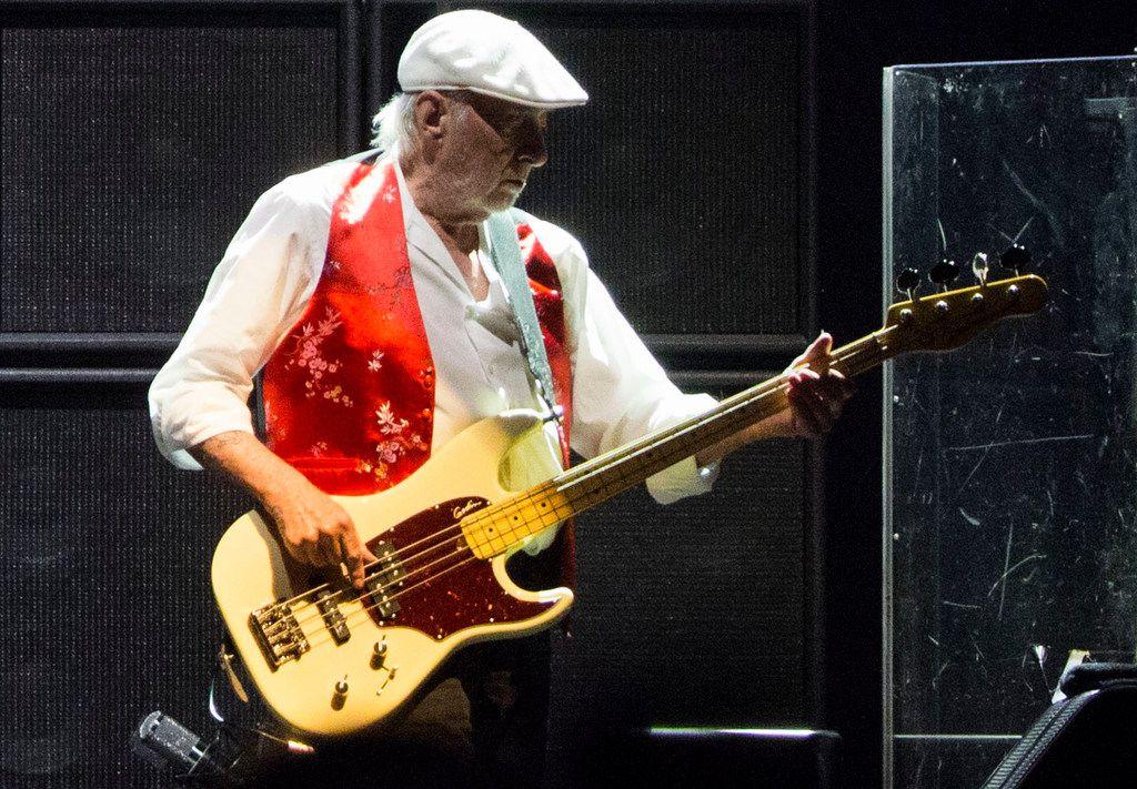 Fleetwood Mac bassist John McVie
