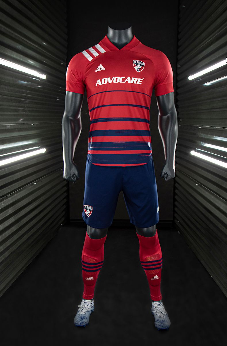 FC Dallas' new kit was revealed Wednesday.