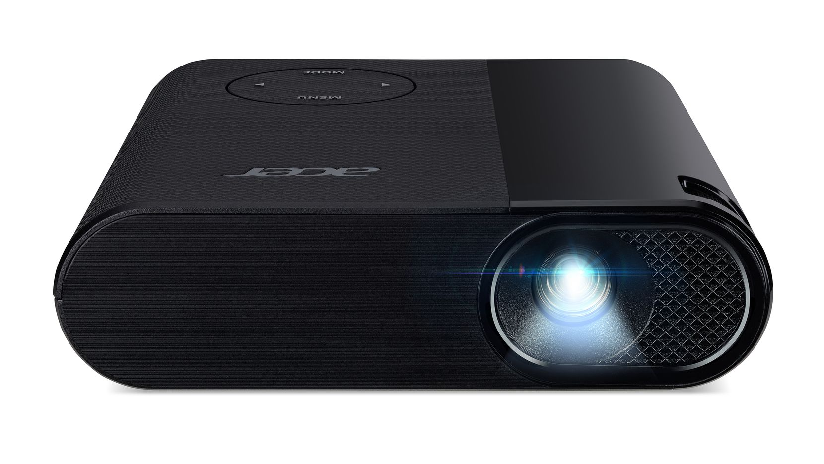 Front view of the Acer C200 projector