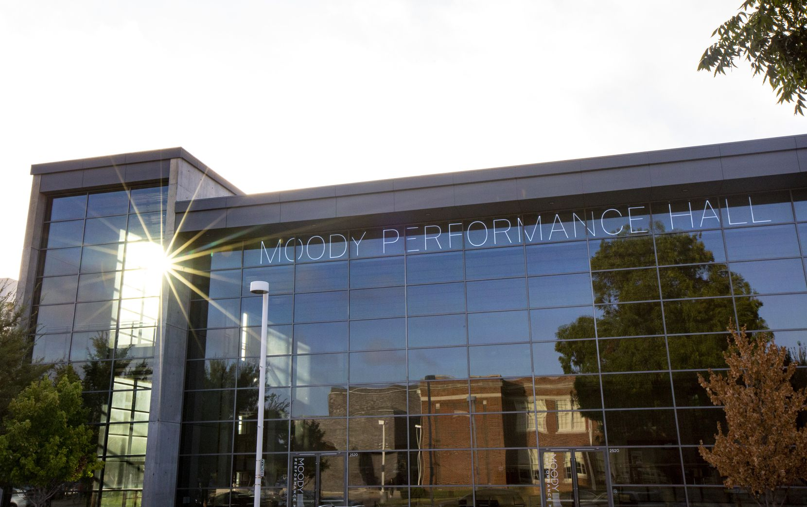 Moody Performance Hall is photographed in the Arts District of downtown Dallas on Wednesday, Oct. 2, 2019. The AT&T Performing Arts Center is celebrating its 10th anniversary on October 12, 2019. (Lynda M. Gonzalez/The Dallas Morning News)