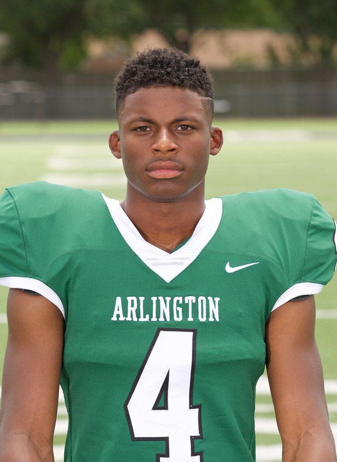 Arlington's Jahari Rogers has experience at quarterback, wide receiver and defensive back.