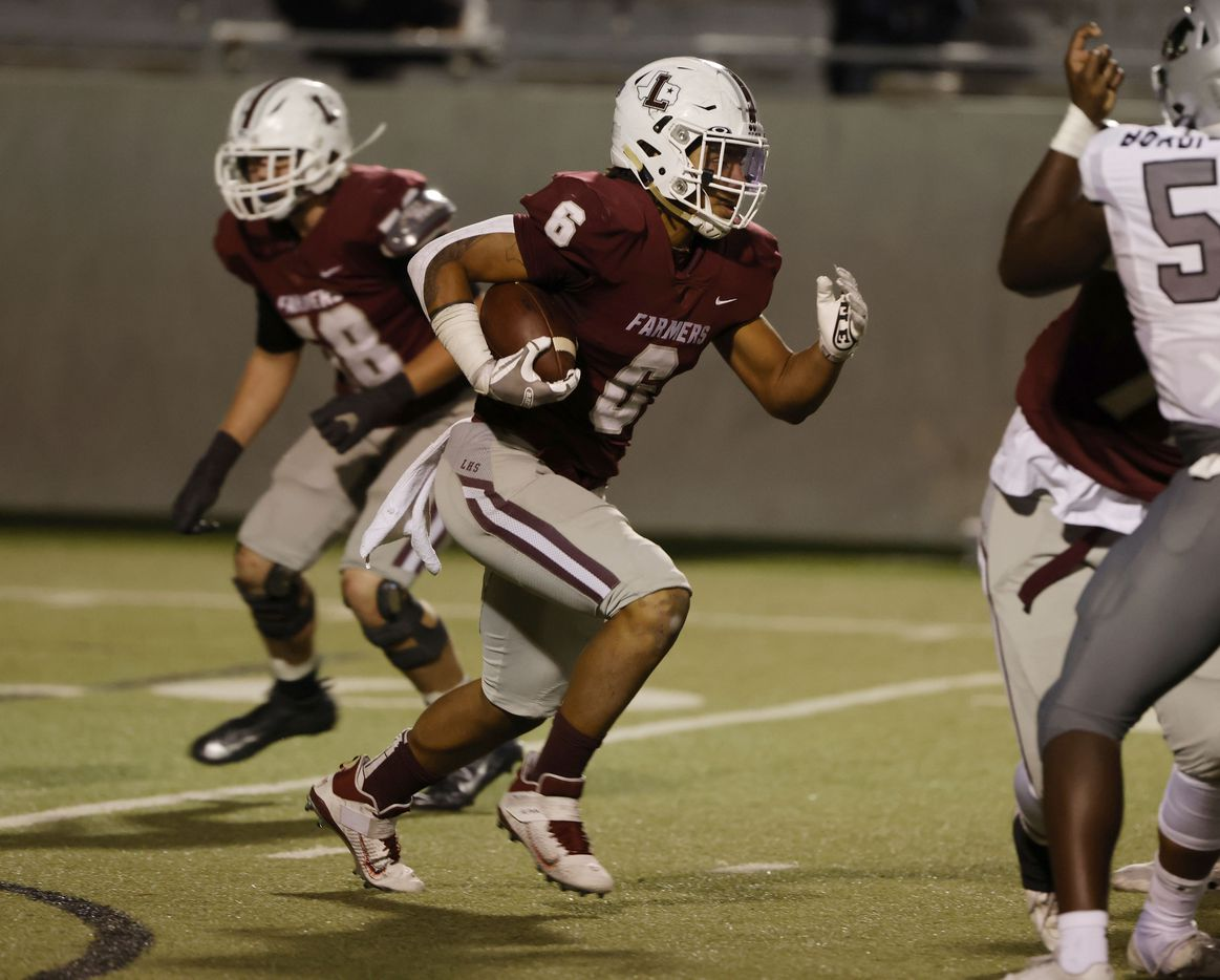 Lewisville running back Damien Martinez runs  against Arlington Martin during Class 6A Division I area-round playoff hight school football game on Dec. 17, 2020. (Michael Ainsworth/Special Contributor)