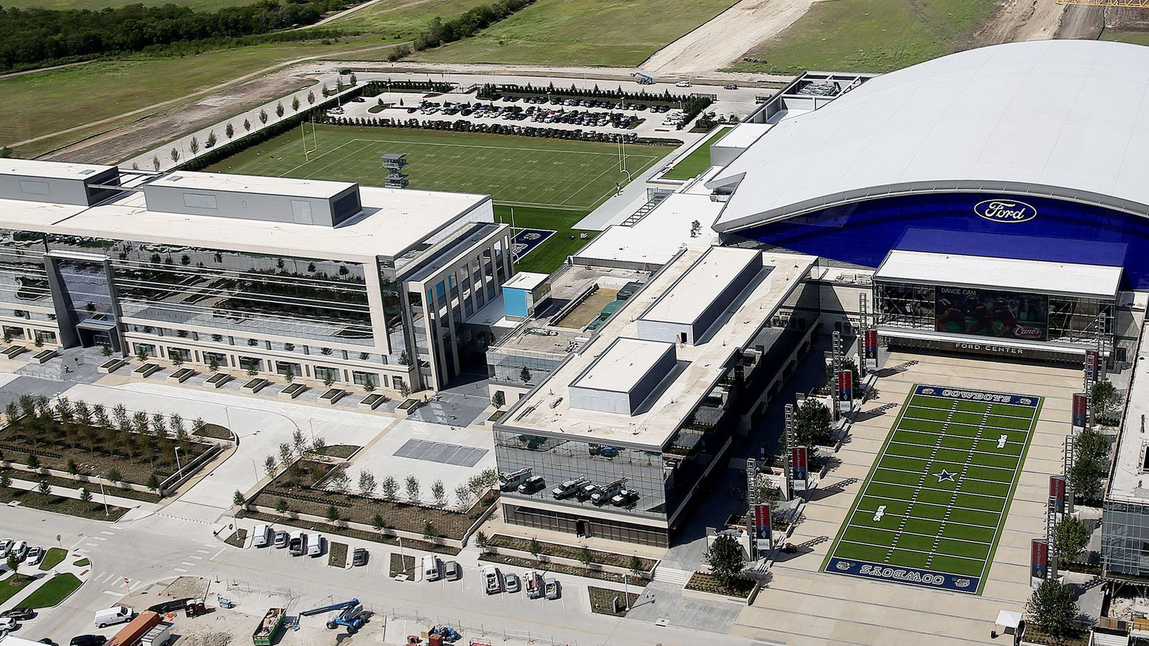 As expected, Dr Pepper is moving its Texas headquarters to the Dallas Cowboys Star development in Frisco.