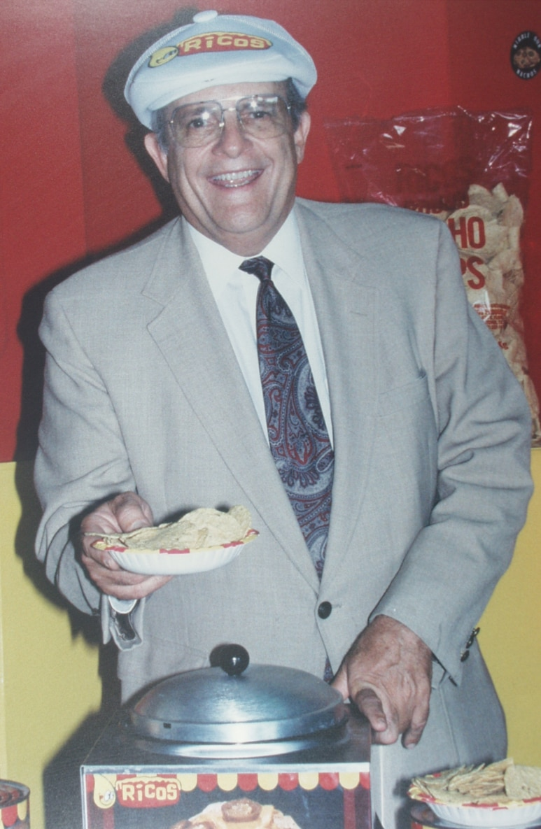 Frank Liberto, who owned San Antonio-based Ricos Products, died Sunday. He was credited with the concept of concession nachos.