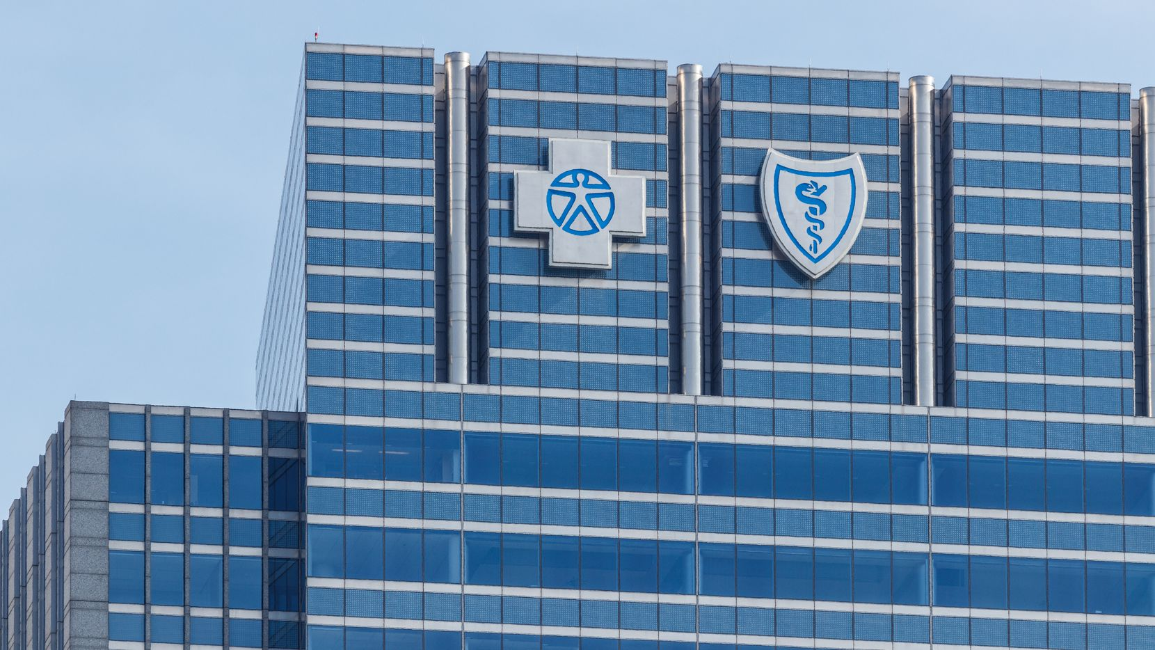 La aseguradora de cobertura médica Blue Cross Blue Shield.
