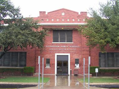 The Richardson ISD administration building has stood in its current location on Greenville Avenue for a century.