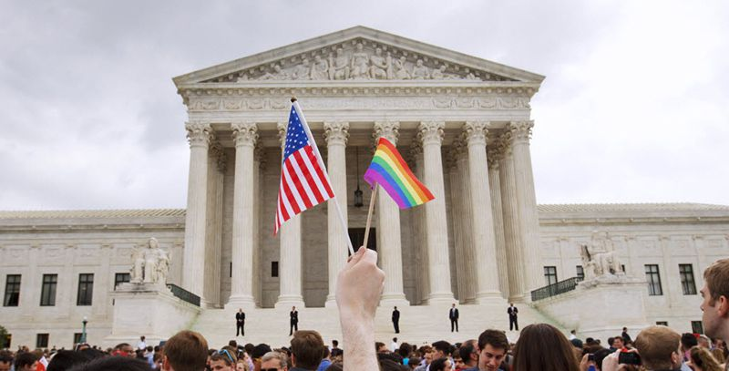 The U.S. Supreme Court legalized same-sex marriage nationwide in a landmark ruling in June 2015. (File/The Associated Press)