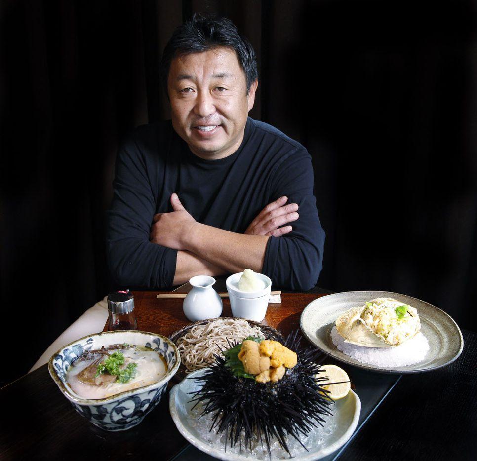 Teiichi Sakurai, chef-ower  of Tei-An