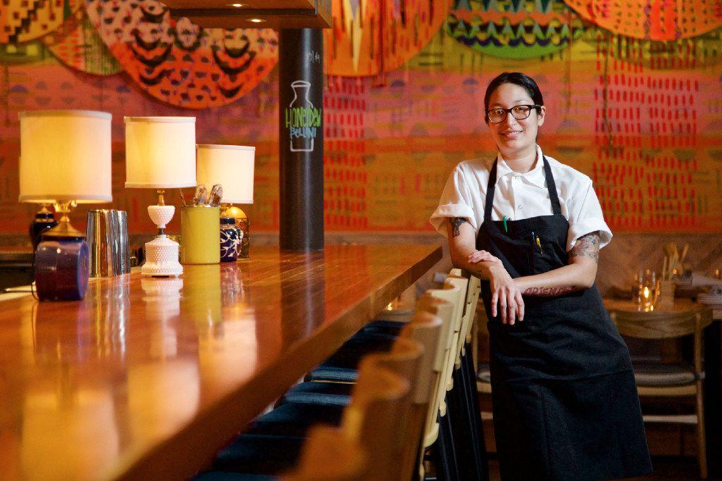 Top Knot chef de cuisine Angela Hernandez