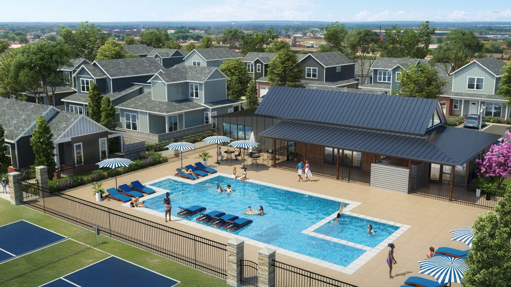 The planned parcHAUS community will contain 134 rental units.