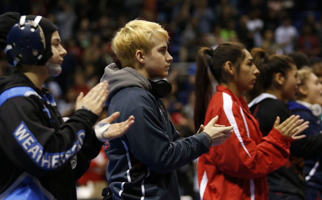 Former Euless Trinity wrestler Mack Beggs won two girls state championships but wanted to compete against boys. The University Interscholastic League is considering a change that would allow girls to compete against boys in the future,