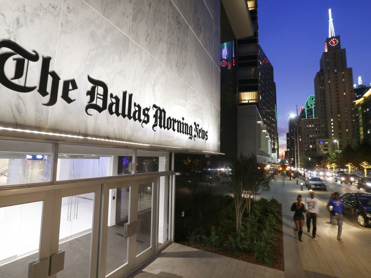 DallasNews is in better shape than most media companies working to fix the local newsgathering business model. It has no debt and a cash cushion of $34.7 million.