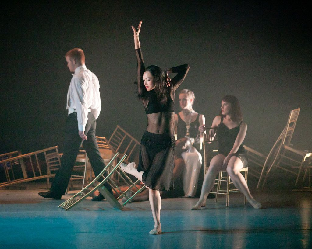 Bruce Wood Dance's All Bruce! program features four works by the late choreographer, including his acclaimed Bolero. (Photo by Sharen Bradford)