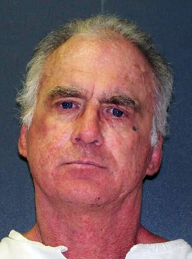 This undated handout photo provided by the Texas Department of Criminal Justice shows Tracy Beatty. In 2003, Beatty strangled his 62-year-old mother, then stole her car and drained her bank accounts. He was scheduled for execution on March 25, 2020, but a court delayed that for 60 days amid the coronavirus outbreak.
