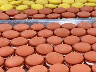 Macarons and other pastries are coming to Ollio Foods bakery in The Colony next month.