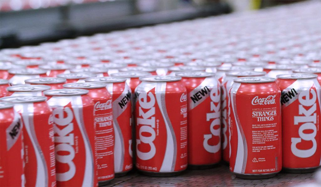 'New Coke' lands at DFW International Airport on Monday, July 1, 2019.