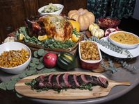 This year, Dive Coastal Cuisine offers Thanksgiving items, including a herbed and brined Turkey, seasoned and seared grass-fed beef tenderloin and sides.