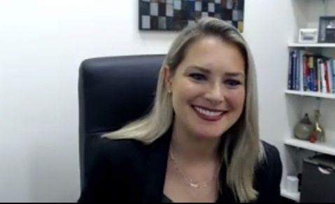 Dr. Erin Carlson is the director of graduate public health programs at the University of Texas at Arlington.