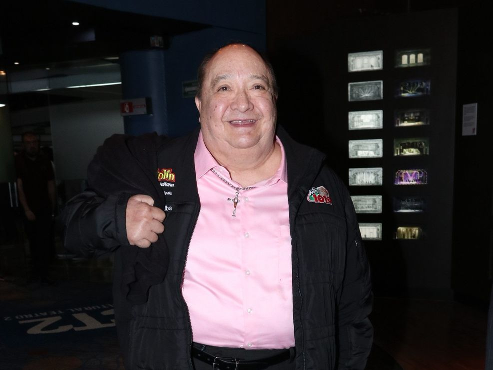"""El comediante mexicano Luis de Alba es conocido por su personaje """"El pirrurris""""."""