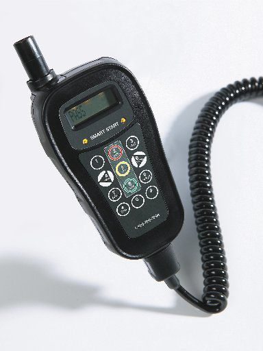 A typical ignition interlock device