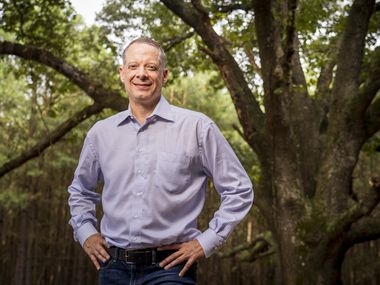 Monty Bennett, chairman and CEO of Ashford Inc., has been working out of his East Texas ranch during the COVID-19 pandemic. The 1,500 acres provide a respite from his typical workdays in Dallas, where he's lived for 30 years.