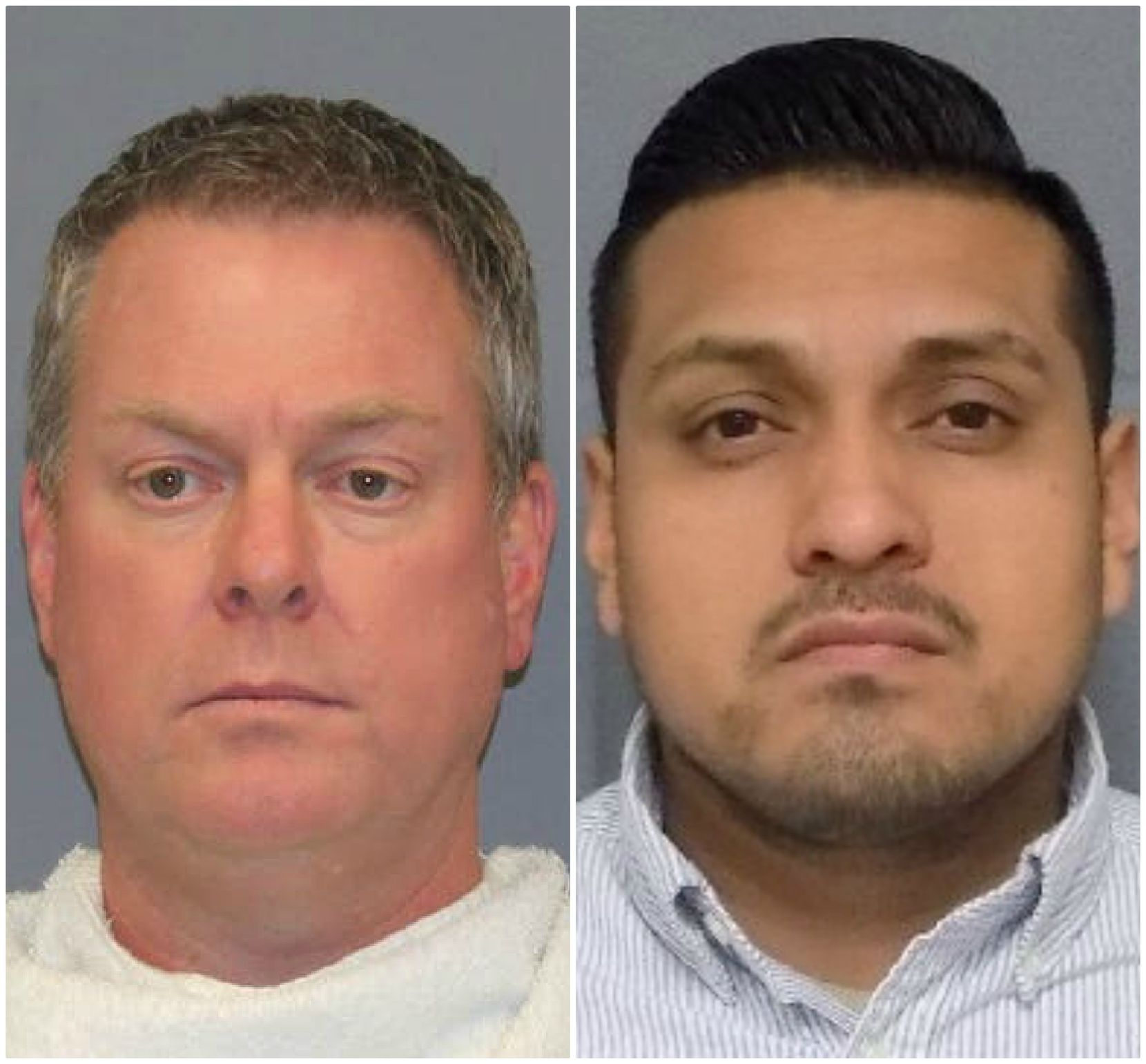 Dallas police Sgt. Kevin Mansell and Officer Danny Vasquez each face misdemeanor charges of deadly conduct in the August 2016 death of Tony Timpa.