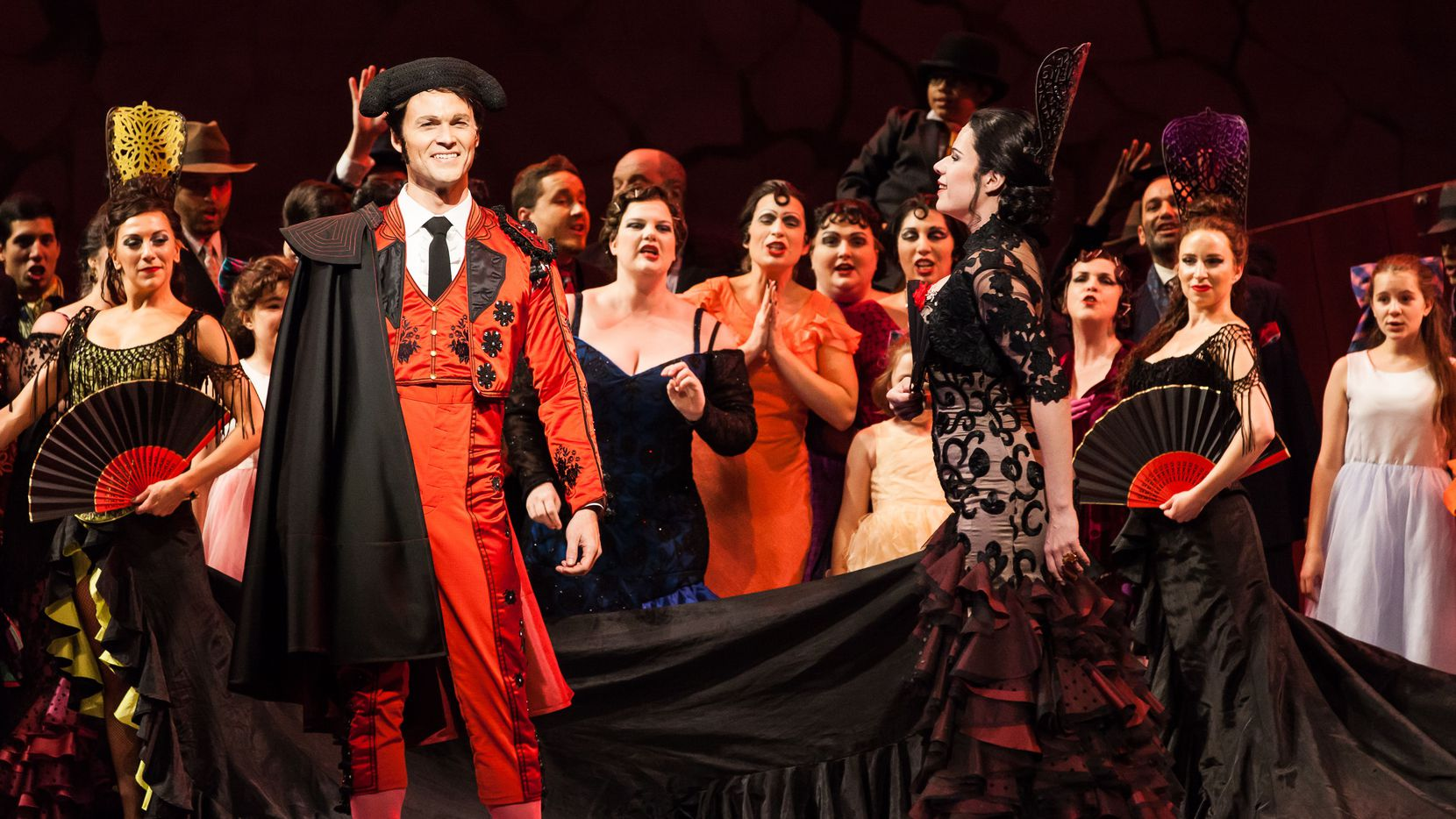 Houston Grand Opera will start up its season this year with 'Carmen,' showing Oct. 22-Nov. 7.