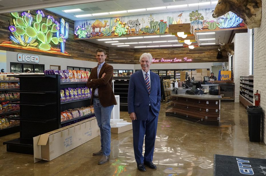 Fuel City President Joseph Bickham and founder John Benda opened their fifth Fuel City this week.