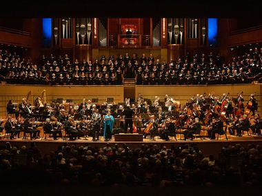 The Dallas Symphony Orchestra and Dallas Symphony Chorus.