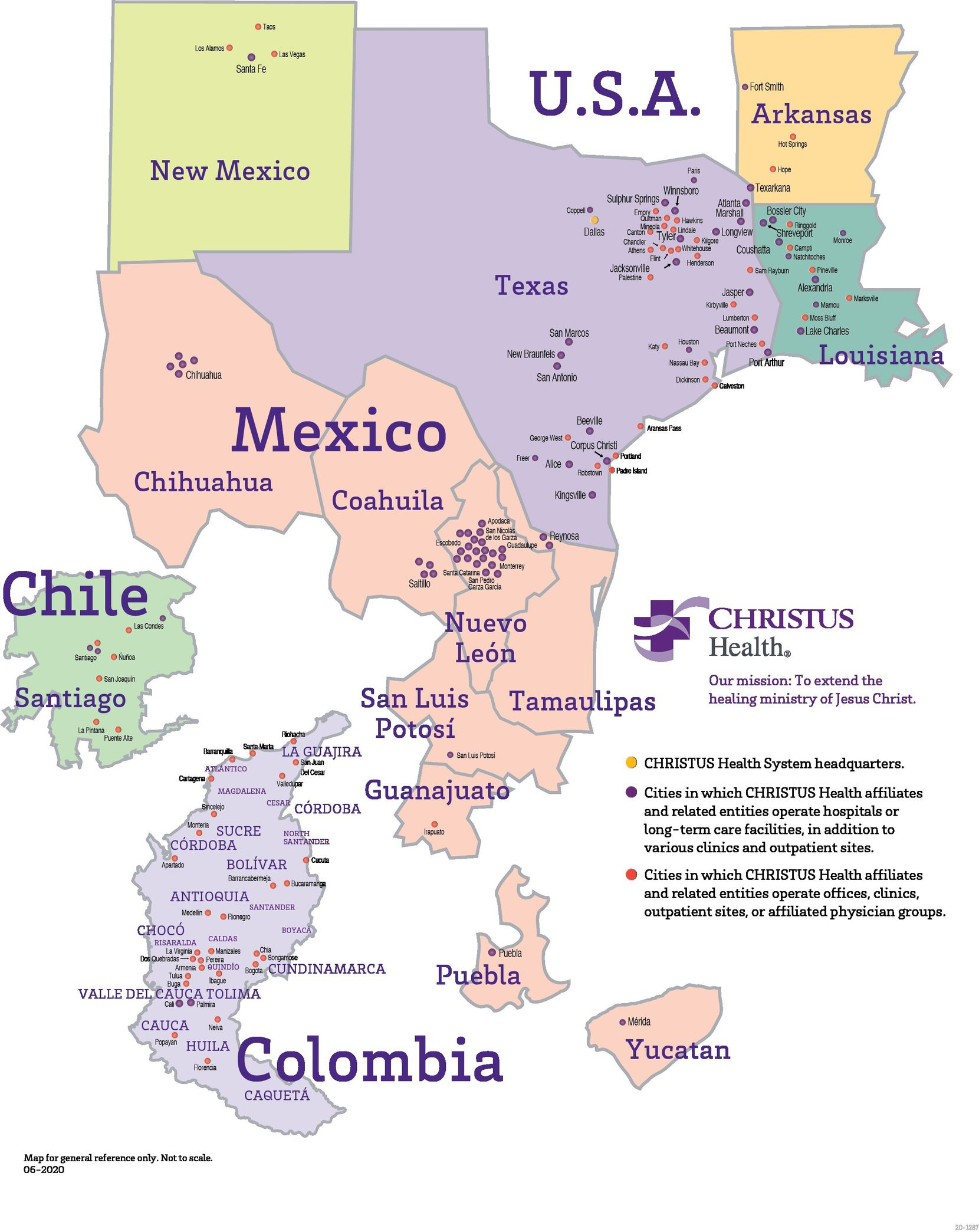 Christus Health is a Catholic, not-for-profit healthcare system with over 600 centers in the U.S, Mexico, Chile and Colombia.