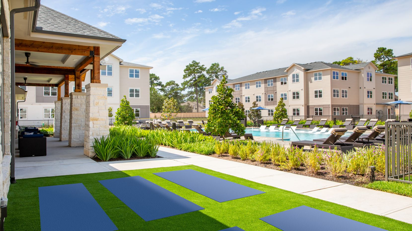 Trammell Crow Residential's new Denton apartment project will be similar to its new Allora rental community in Houston.