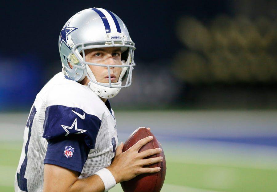 Kellen Moore podría retirarse y convertirse en el entrenador de quarterbacks de los Cowboys de Dallas. Foto DMN