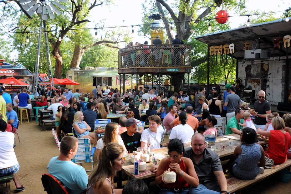 Truck Yard, pictured here in 2014, is regularly packed on beautiful days. But Lowest Greenville is home to dozens of restaurants, bars and shops that don't have quite the same draw. Still, it appears this revitalized neighborhood will fare just fine.