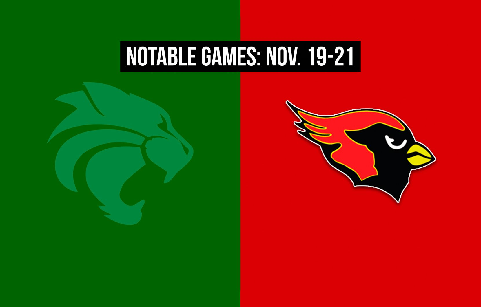 Notable games for the week of Nov. 19-21 of the 2020 season: Kennedale vs. Melissa.
