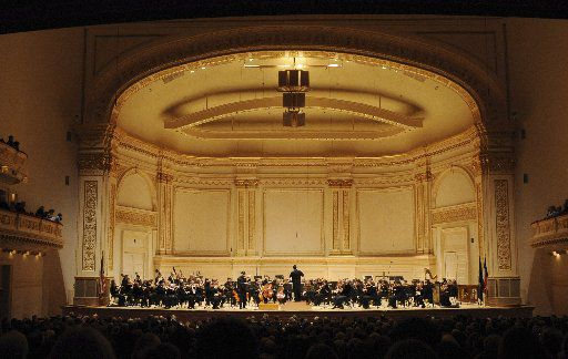 The Fort Worth Symphony Orchestra performed at New York City's prestigious Carnegie Hall on Jan. 25, 2008.