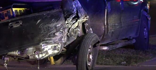 Un Honda Civic fue destruido en un accidente. Su conductor falleció. DMN