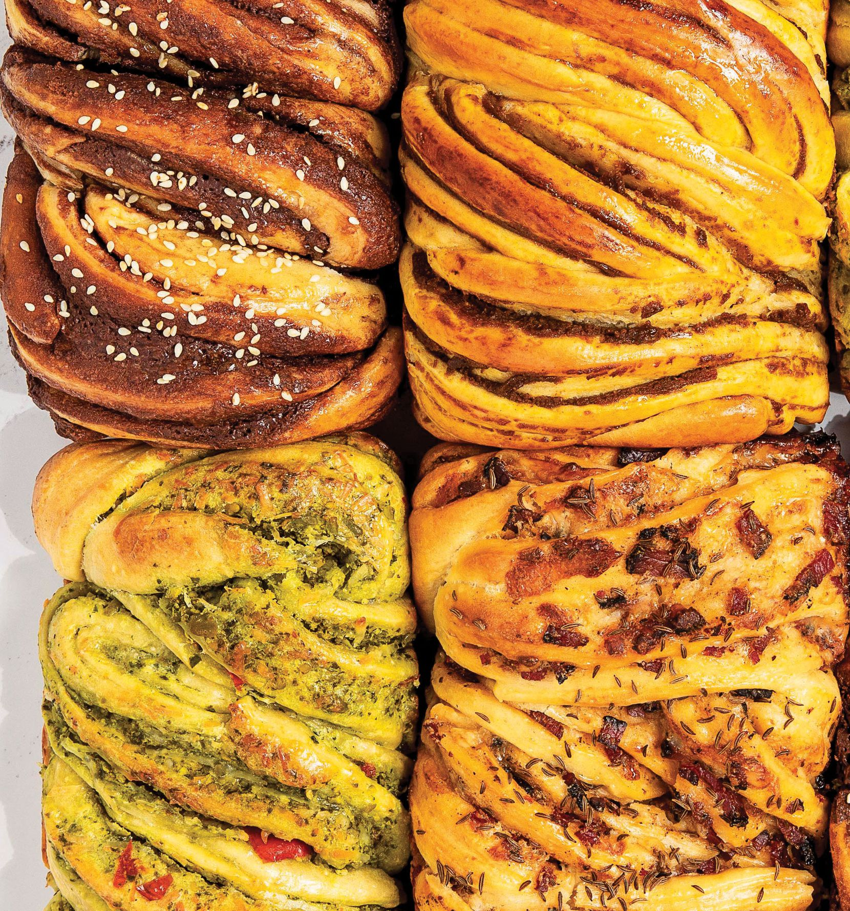 Babka four ways from Jew-Ish: a Cookbook by Jake Cohen