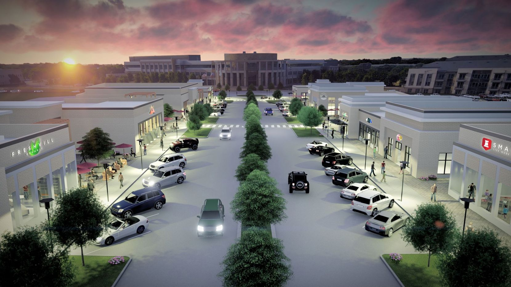 The City Point retail project is part of the redevelopment of the former North Hills Mall site.