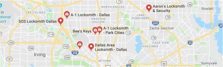 """Google Maps has become a place where scammers can fool customers. Legitimate businesses, such as those showing on this Google Map, must deal with scammers who pretend to be honest competitors. Google says its working to fix this. Google is also dealing with claims that its Chrome browser is """"surveillance software."""""""