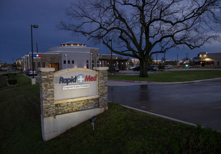 Rapid Med Urgent Care operates two facilities: One in Highland Village, the other in The Colony. (Juan Figueroa/ The Dallas Morning News)