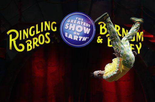 """El circo Ringling Bros. and Barnum & Bailey Circus pondrá fin al """"Show Más Grande de la Tierra"""" en mayo, luego de 146 años. /AP"""