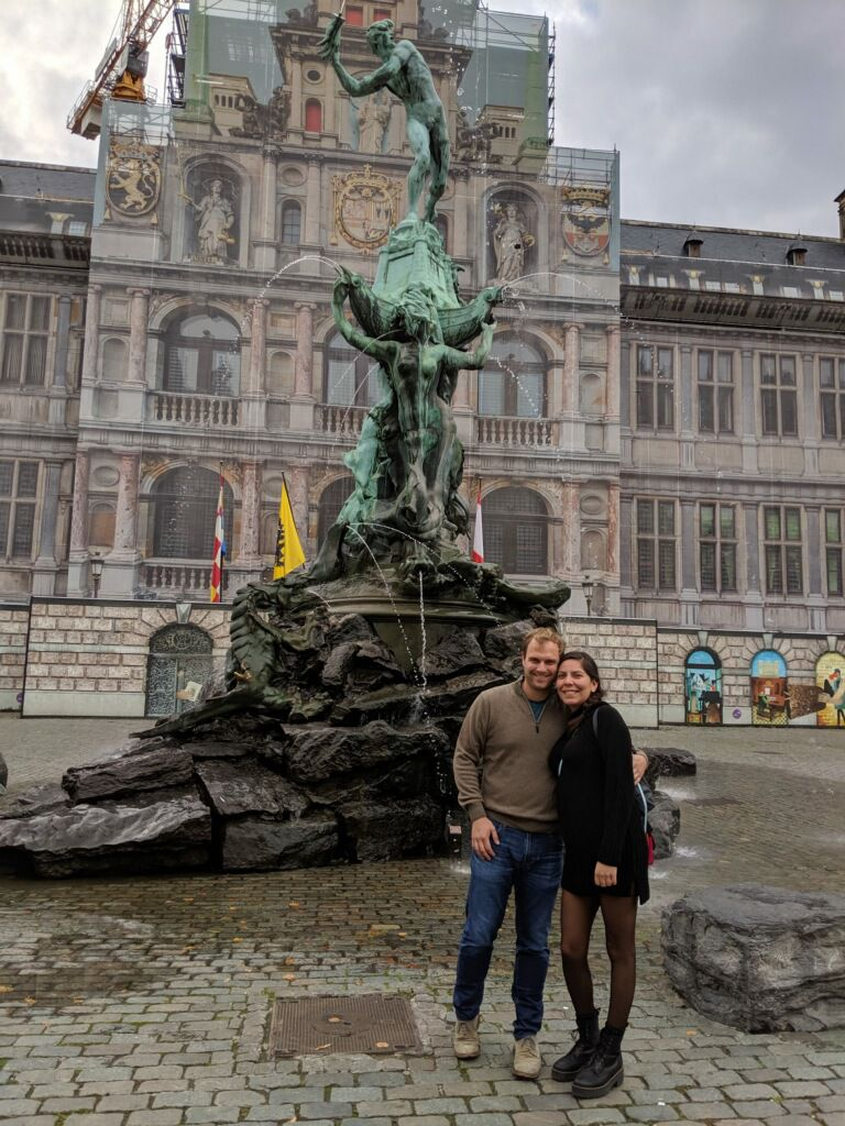 Jeff Karetnick and April Segovia plan to open a Belgian beer bar named Meyboom Brasserie in Dallas. Here's the couple during a recent trip to Belgium.