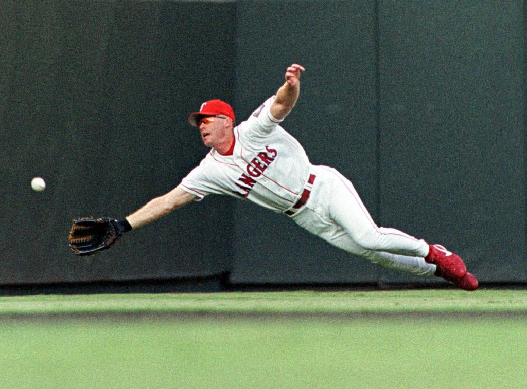 Rusty Greer / Fan favorite and 10th-round pick led team in on-base percentage during its first playoff run in late '90s.