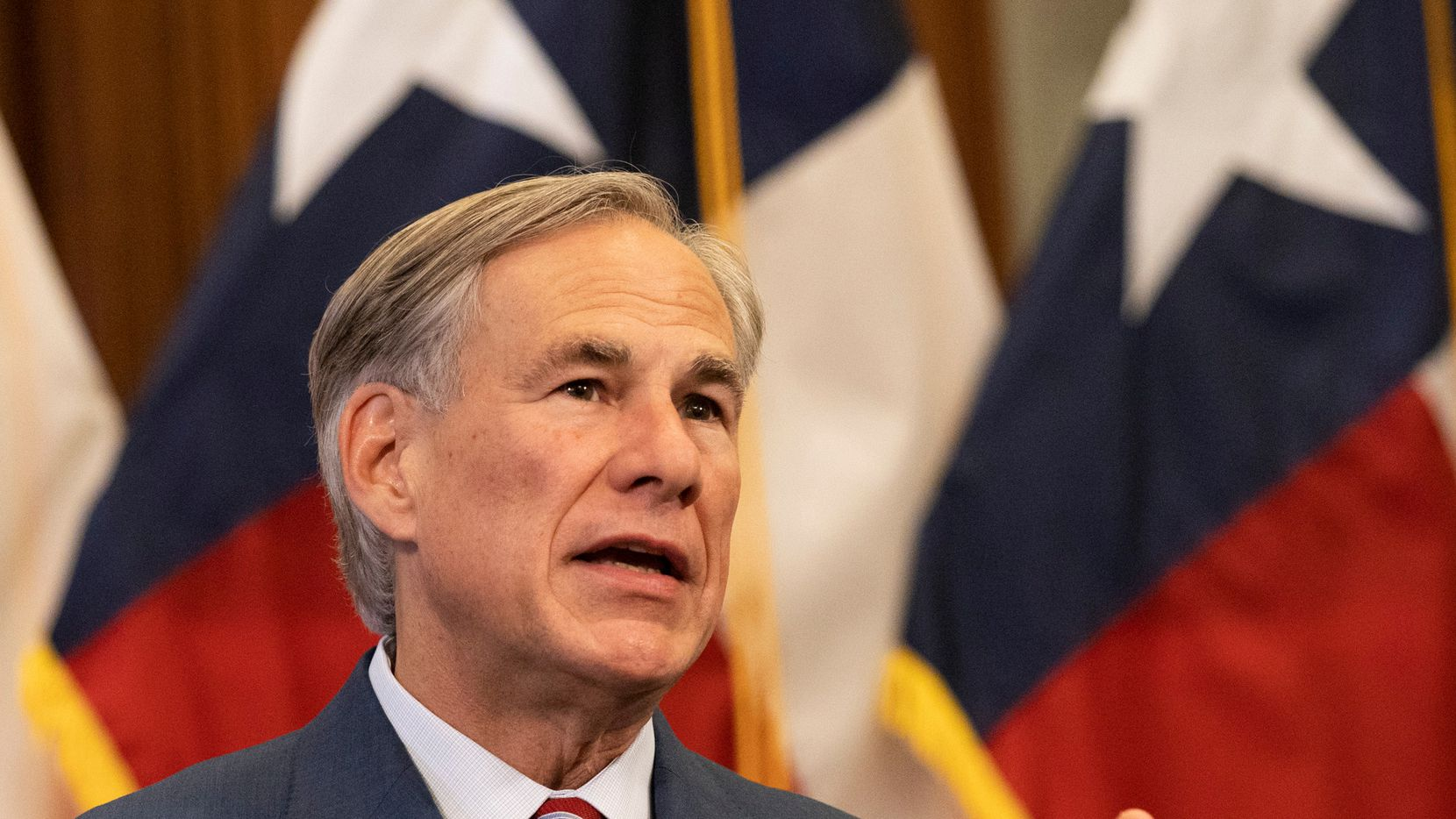 Gov. Greg Abbott, shown as he announced more reopenings last week, urged Texans on Wednesday to consider having elective surgeries and procedures done this summer. Doing so would let the state -- if coronavirus cases spike -- again shut off non-emergency work to free up hospital beds, he said.