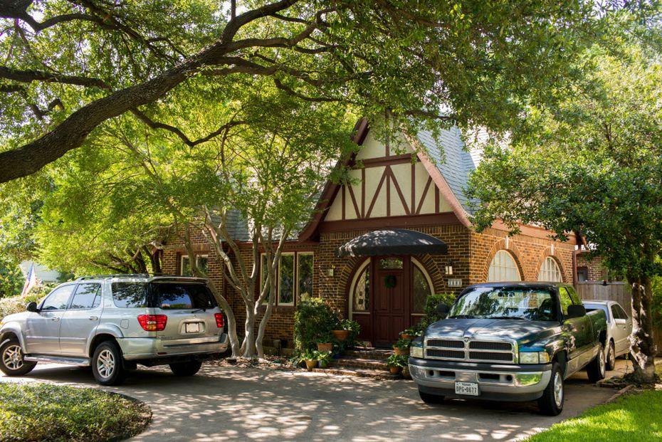 3808 Mockingbird Ln. in University Park on July 6, 2016 in Dallas. (Ting Shen/The Dallas Morning News)