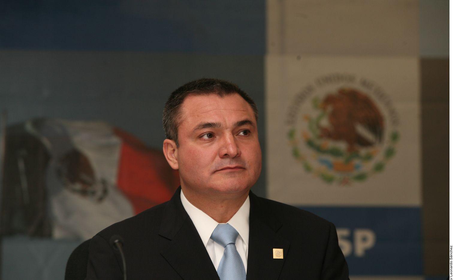 Genaro García Luna, quien fue secretario de Seguridad Pública de México entre 2006 y 2012 durante el gobierno del entonces presidente Felipe Calderón.